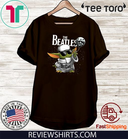 The Beatles Baby Yoda Official T-Shirt