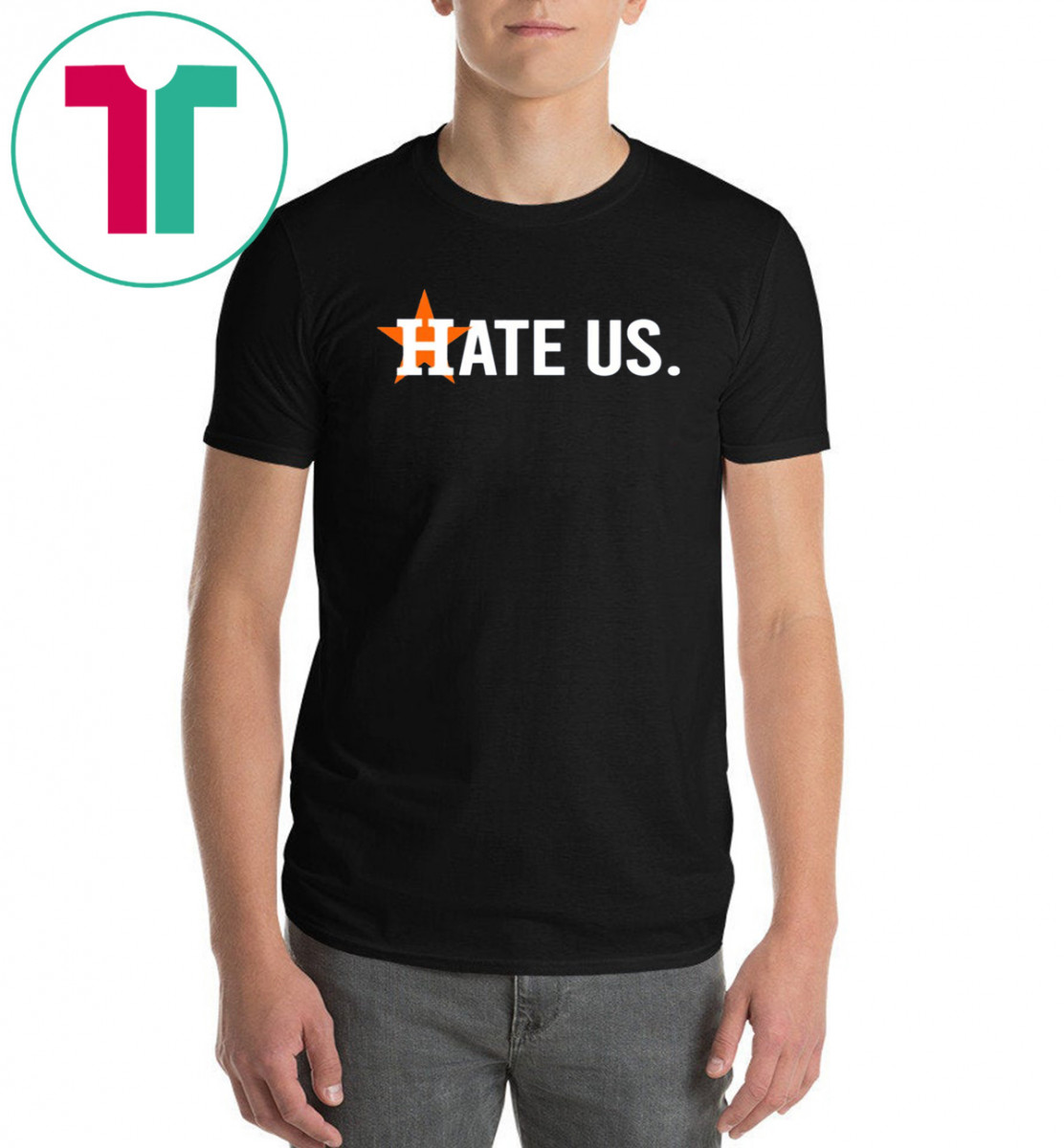 Astros Fans Putting Out 'Hate Us' T-Shirt