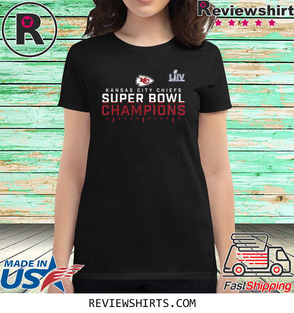 Celebrate the Super Bowl LIV champion Kansas City Chiefs Shirt