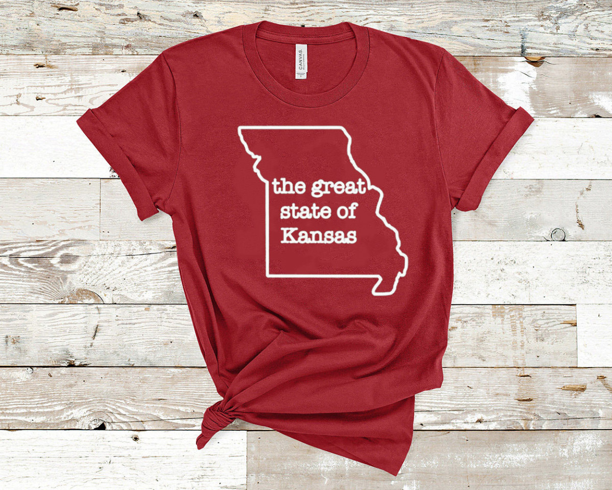 The Great State of Kansas kansas city chiefs Shirt