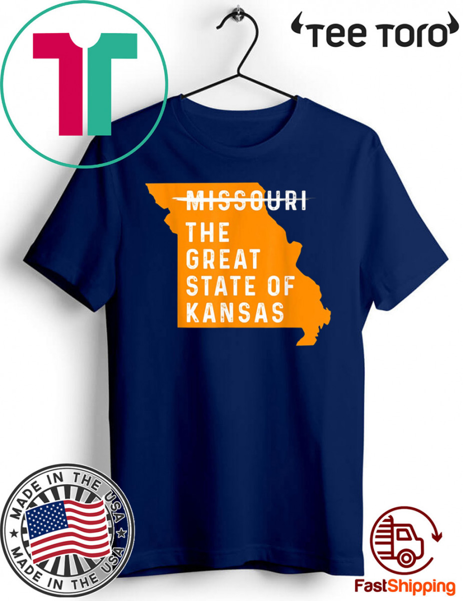 The great State of Kansas Missouri State T-Shirt