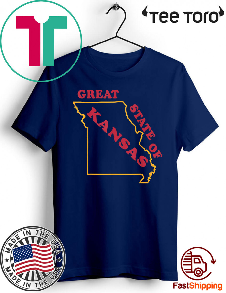 The Great State of Kansas Missouri 2020 T-Shirt