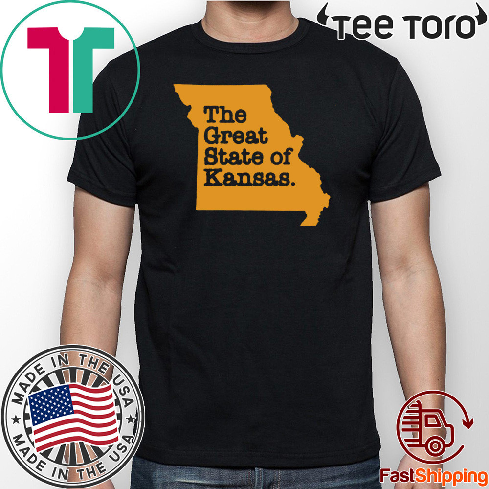 The Great State of Kansas or Missouri T-Shirt