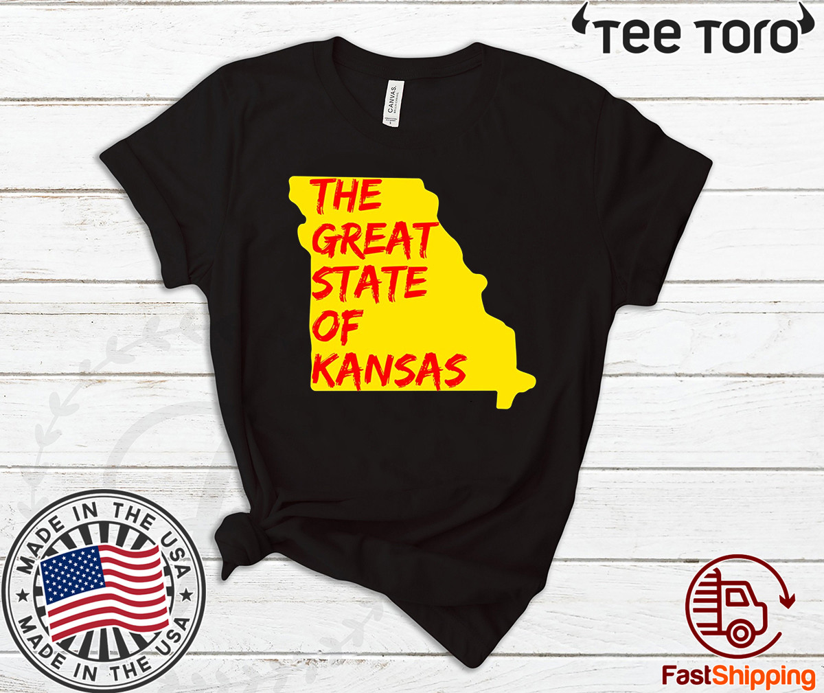 The Great State of Kansas or Missouri Shirt
