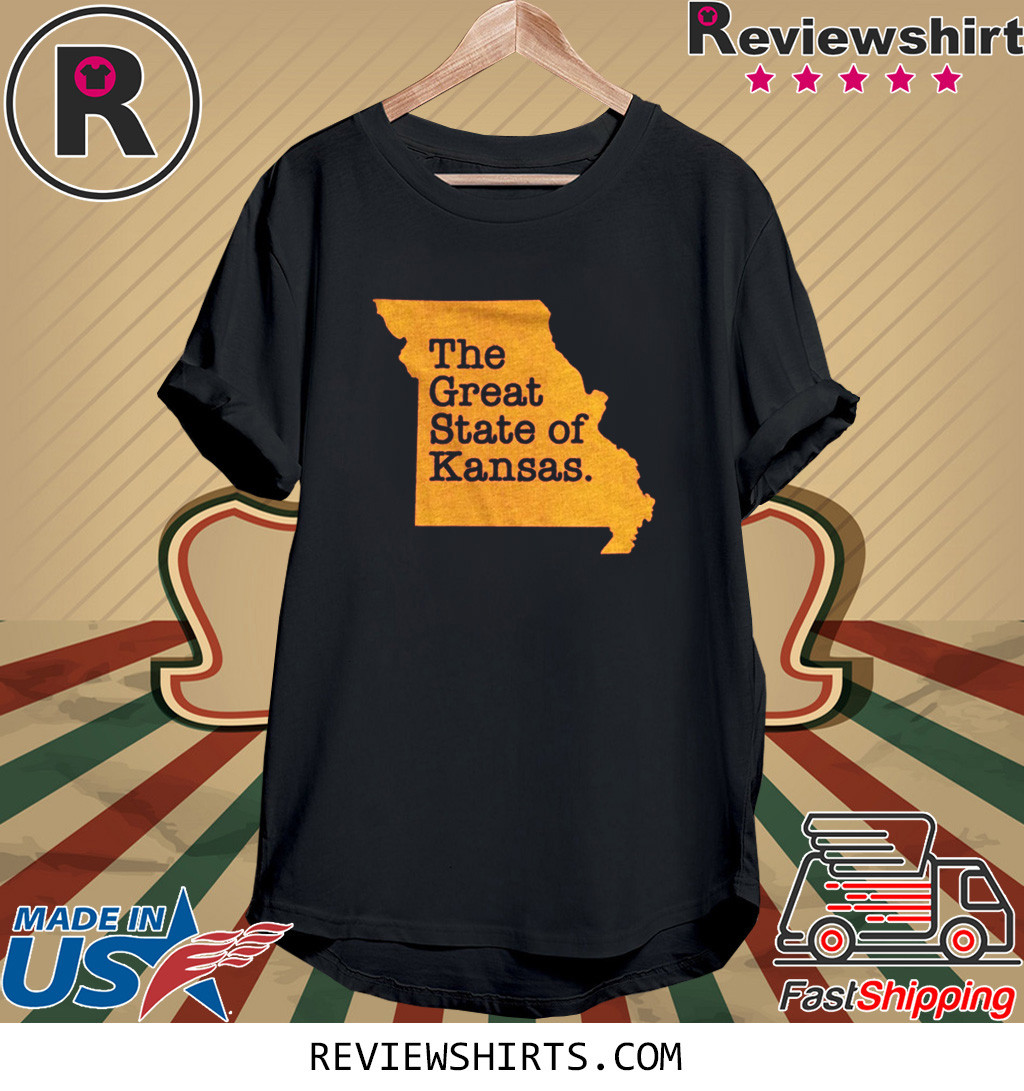 The Great State Of Kansas T-Shirt Kansas City Champion