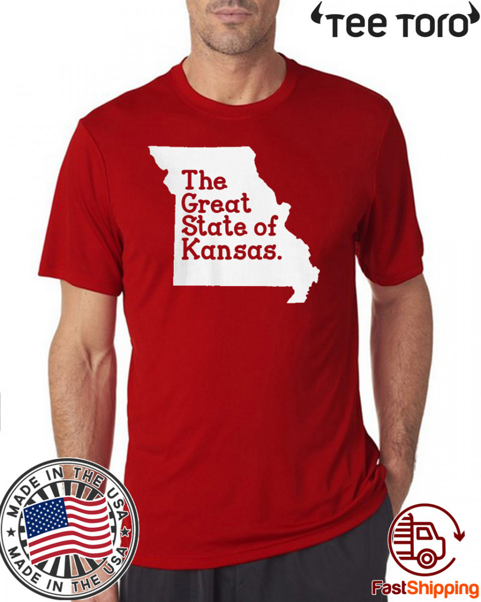 The Great State of Kansas Shirts