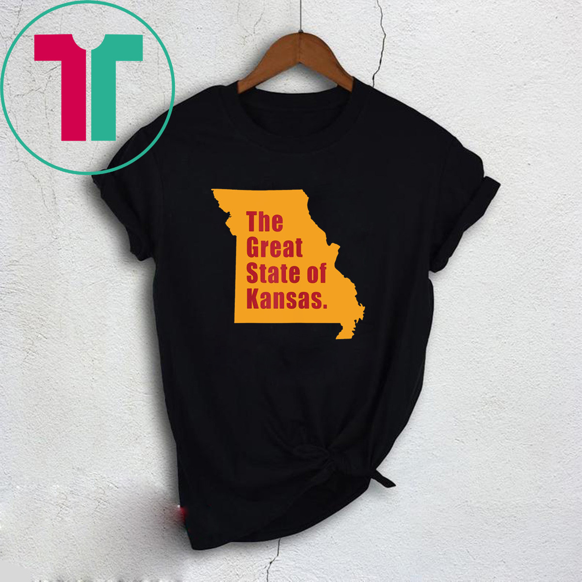 The Great State of Kansas Trump Tweet T-Shirt