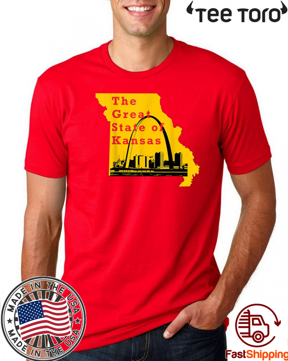 The great state of Kansas Trump 2020 T-Shirt
