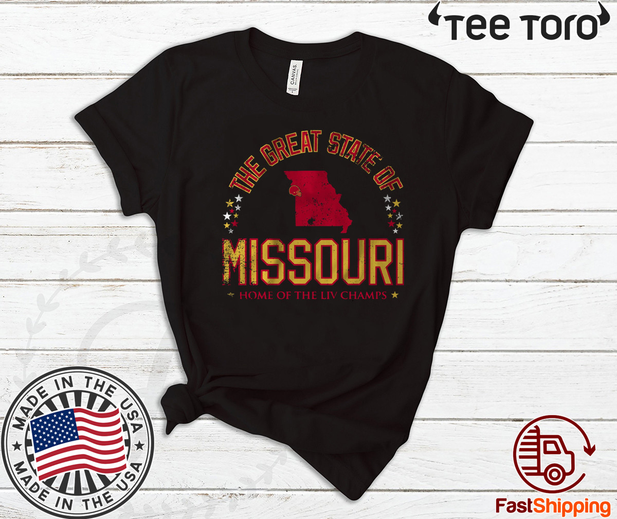 The Great State of Missouri Shirt - KC Football