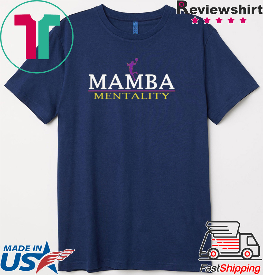 The Mamba Mentality 1978 - 2020 T-Shirt