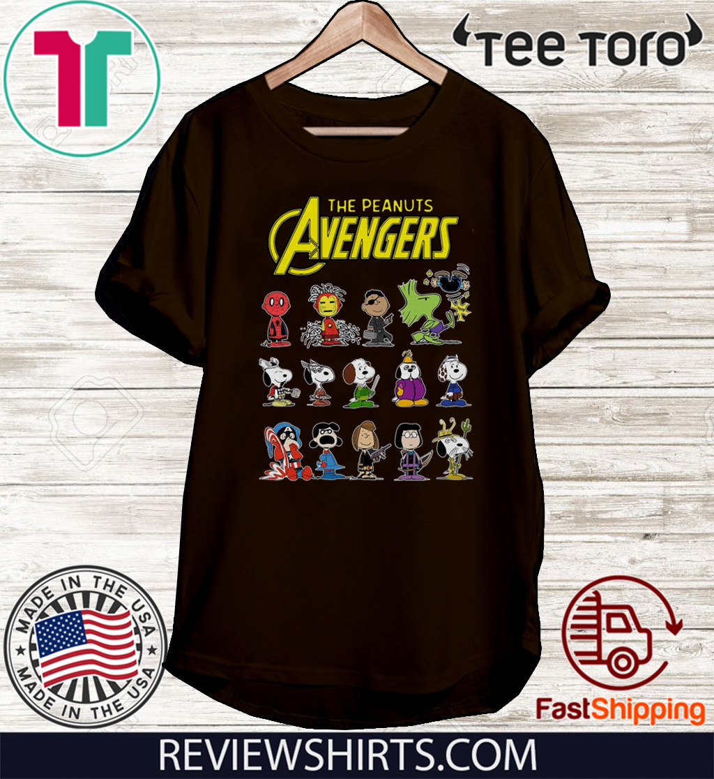 The Peanuts Avengers Characters 2020 T-Shirt