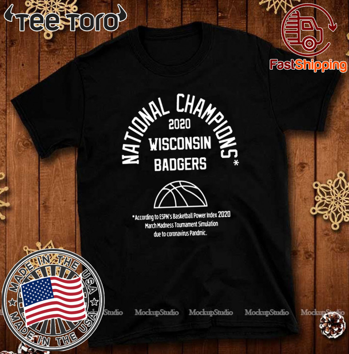 2020 NATIONAL CHAMPIONS WISCONSIN BADGERS SHIRT - LIMITED EDITION