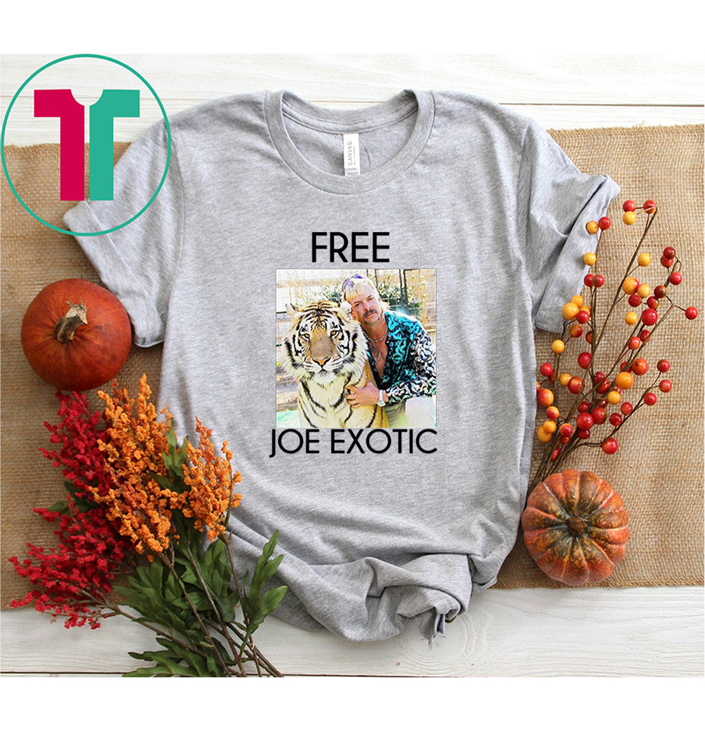 Tiger King Free Joe Exotic Shirt