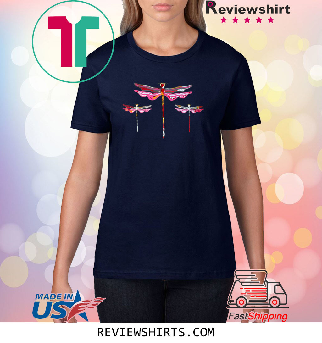 Three Dragonflies Shirt