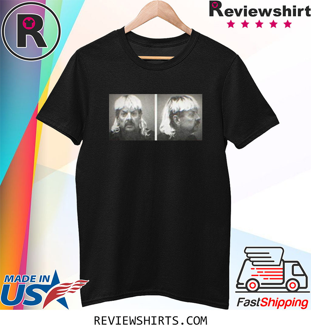 Tiger King Joe Exotic Mugshot Netflix Series Fan Shirt