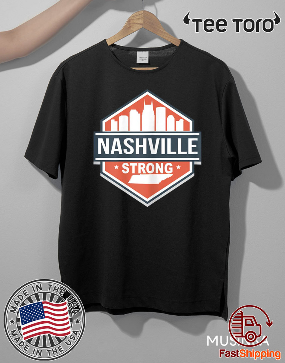 Tornado Nashville Strong Shirt I Believe In Tennessee